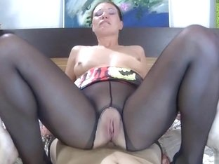 Anal-Pantyhose Video: Jennie and Morris