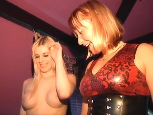 Slavegirl Sofie and Mandy Slim The Newest Video