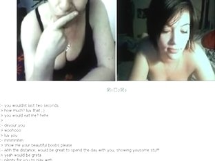 British lady on Chatroulette