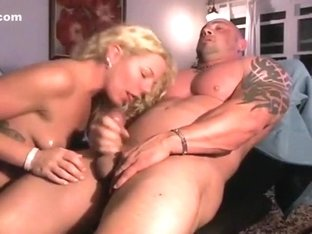 straight muscle guy gets fucked with dildo