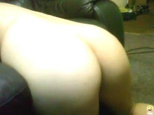 Blowjob and dildo play on a webcam