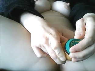 Playing with my neat pussy