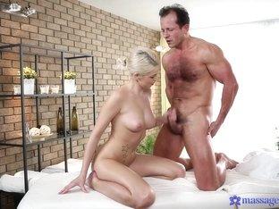 Incredible pornstars Karol, George in Horny Cumshots, Massage xxx scene