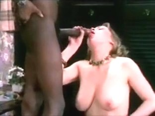 Classic Big Black Dick & Busty Brunette