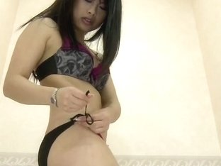 Lingerie changing room girl showing off delicious body