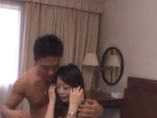 Horny mature Asian babe is into threesomes