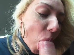 Hawt blond Victoria hitch hikes after getting stranded and acquires drilled