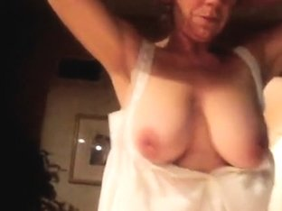 Gingers 34d naked and shakin
