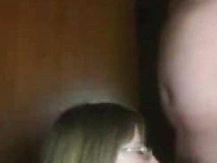 Nerd couple bangs for webcam