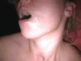 Feeding my dick to my girlfriend