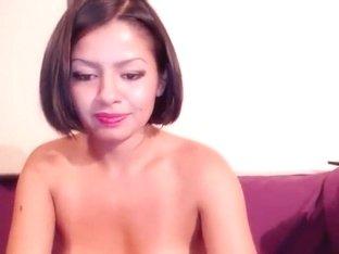 Webcam model Sandra_Iron riding and sucking dildos