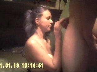 This Babe sucks unfathomable and swallows all