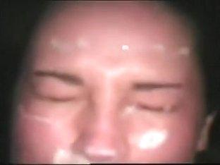 Thick ramrod gives wife a precious facial