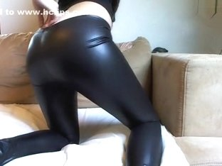 Latex-Legging