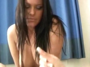 Brunette Hair Receives Her Wazoo Pummeled