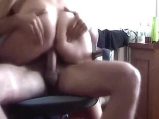 Ride Schlong On Office Chair