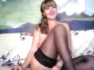 Lana39 in black stockings