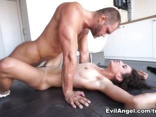 Exotic pornstars Nacho Vidal, Julia Roca in Incredible Latina, Hairy sex clip