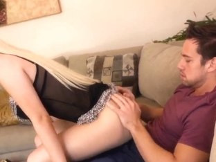 Alexis Ford gets another hard candy to suck