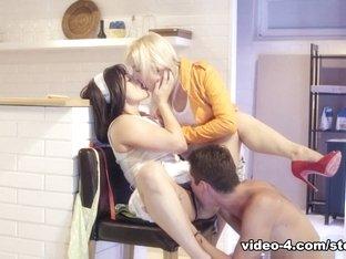 Exotic pornstars Lea Lexus, Katy Rose in Incredible MILF, Big Ass sex scene