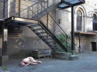 Naked on Stage 60 Vaida Tamoseviciute