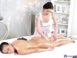 Amazing pornstars Daphne Angel, Nicole Love in Crazy Massage, College adult movie