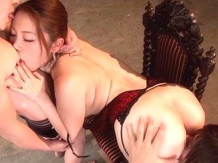 Asami Ogawa in Glamorous Hip and Immoral Gap part 3