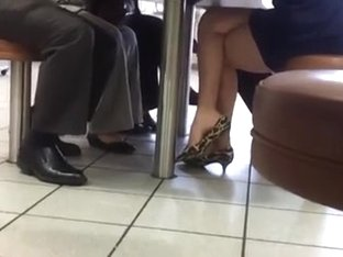 Candid High Heel Danglong Sexy Legs & Feet