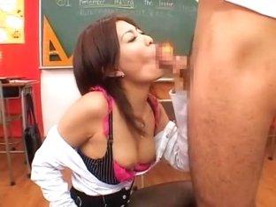 Fabulous Japanese girl Yuki Asada in Amazing Handjobs, Cumshots JAV scene