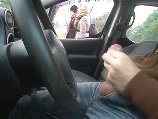 public flash in car2
