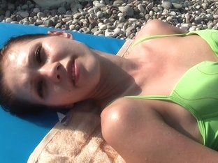 Margo & Aspen & Jocelyn in vacation porn video with a couple shagging