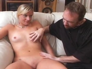 Acrobatic Blonde Gets Pussy Fucked!