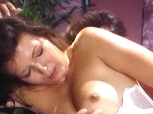 Nurse treats man orally and fucks