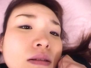 Cutie Asian school girls hammerd in her hairy pooter