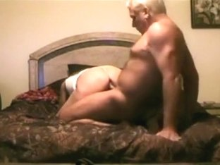Granny and grandpa still fuck. here's their first creampie sextape !!!