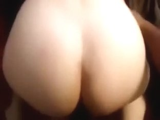 Round shaped hawt a-aperture of this white babe gets reamed hard