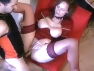 Incredible amateur movie with milf, wife, stockings, shaved, close-up, anal, couple, toys, masturb.