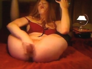 Hawt red hair cutie squirting 3 times on live.