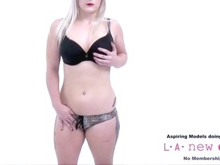 CUTE BLONDE IS FUCKED AT HER PHOTO SHOOT AUDITION