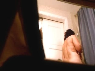 Gf mature getting ready for shower!