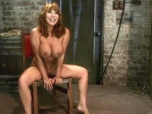 Classic HogtiedBig Titted MILF in the chairOrgasm after Orgasm no Mercy