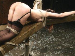 Exotic fetish sex clip with best pornstar Katja Kassin from Waterbondage