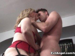 Incredible pornstars James Deen, Nina Hartley in Crazy Stockings, Big Tits xxx movie