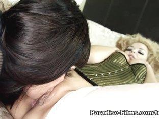 Fabulous pornstars Aruba Jasmine, Daisy Rock in Exotic Cunnilingus, Big Ass sex clip