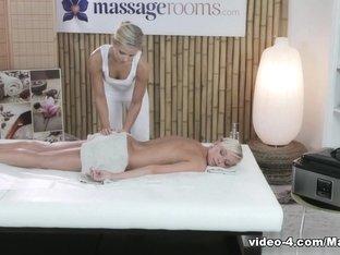 Horny pornstar in Exotic Blonde, Massage sex scene