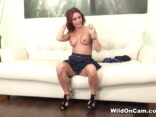 Horny pornstar Monique Alexander in Fabulous Redhead, Solo Girl porn video