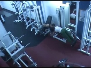 Hidden camera in gym