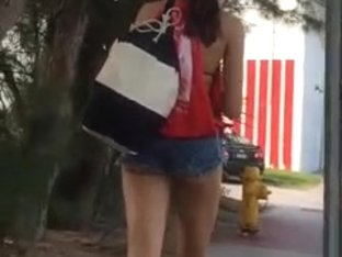Florida Vacation Creep Video I Made (She Actually Caught Me)
