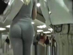 Hot girl in sports pants