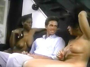 Ebony Ayes, Raven Richards & Peter North threesome
